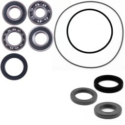East Lake Axle Rear differential seal kit compatible with Kawasaki Brute Force 650 KFX 700 V Force 2004 2005 2006 2007 2008 2009-2013
