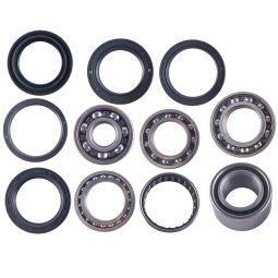 Yamaha Kodiak front left//right cv axle wheel bearings /& seal kit 400 2003-06